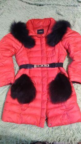Зимняя курточка, пуховик-жилетка, модная.
