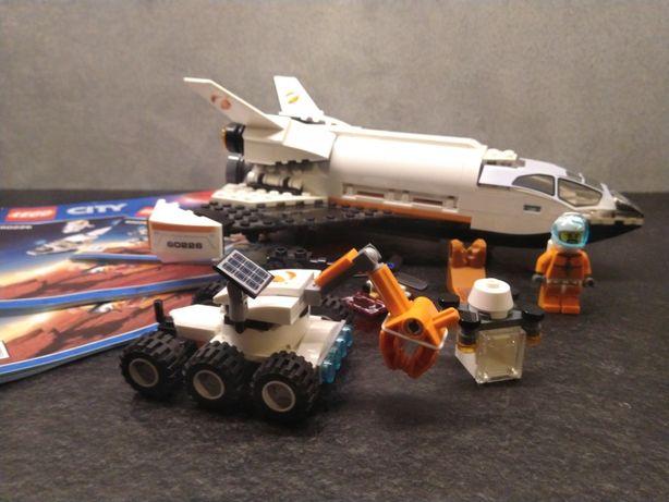 Lego City 60226 Wyprawa Badawcza na Marsa Prom kosmiczny statek klocki