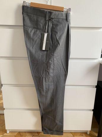 ZARA spodnie eleganckie 42 XL wełna kaszmir