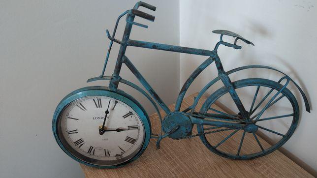 Zegar rower retro stojacy