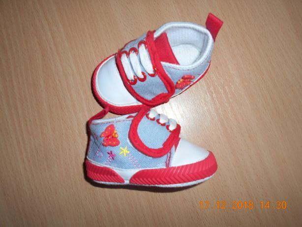 Оригинальные кеды-кроссовки для девочки