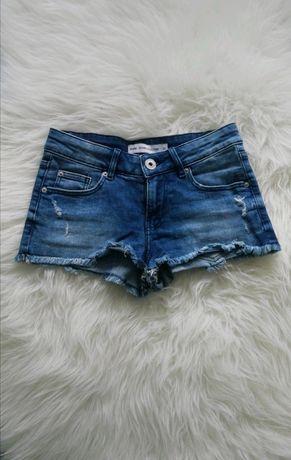 Nowe szorty dżinsowe