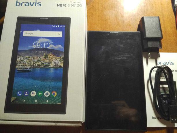 """Планшет Bravis NB76 6.95"""" 3G. 3G/2G, Android 8.1, 2/16GB"""