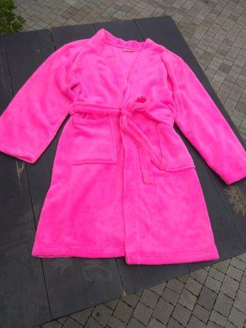 Халат флисовый розовый