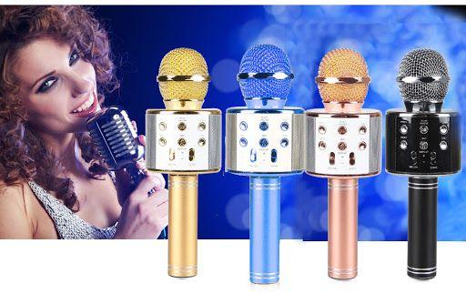 Домашний концерт!!! Микрофон - караоке Bluetooth USB WSTER. Новинка.