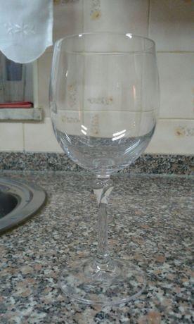 6 copos de vinho novos