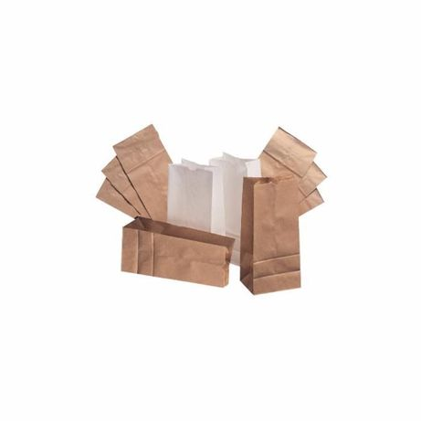 Упаковочные эко пакеты крафт. Коричневые