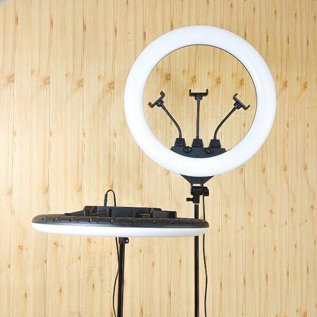 Кольцевая LED светодиодная лампа 45, 55 см, световое кольцо - Киев