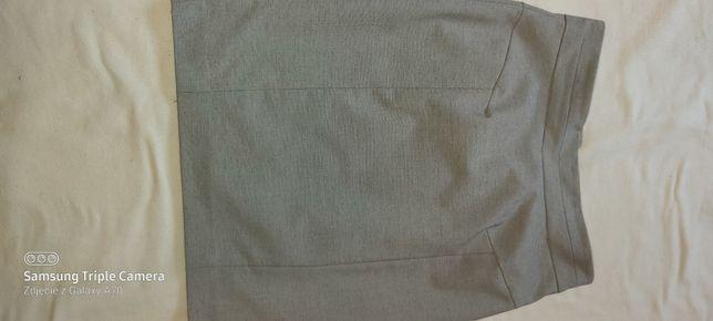 Szara spódnica HM ołówkowa stan idealny 38