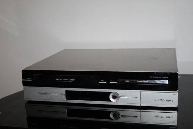 PHILIPS Nagrywarka odtwarzacz kaset VIDEO płyt DVD USB Combo Wysyłka