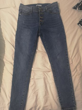 Spodnie jeans 5 guzików push up