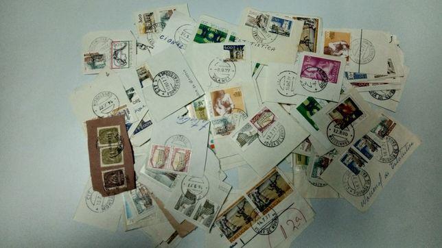 Filatelia / Marcofilia: lote de selos Portugal com carimbos completos