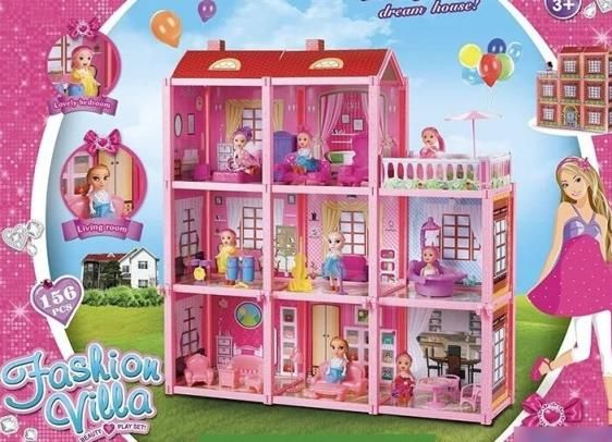 Цікавий!Нова Пошта!Дом для кукол!