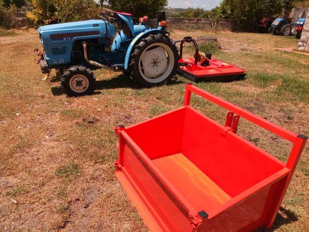 Caixa de carga de metro para tractor