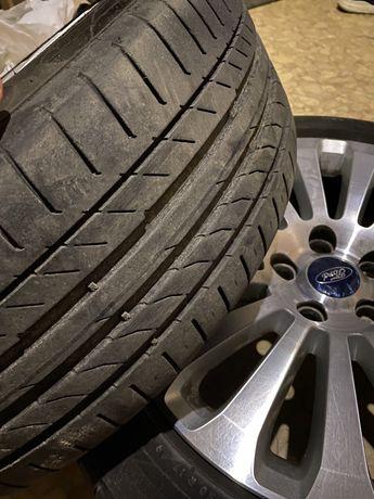Продам літні шини 205 50 r17 Continental ContiSportContact