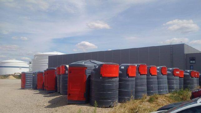 MIASTKO PROMOCJA Zbiornik dwupłaszczowy na paliwo SiBUSO 5000 l Diesel