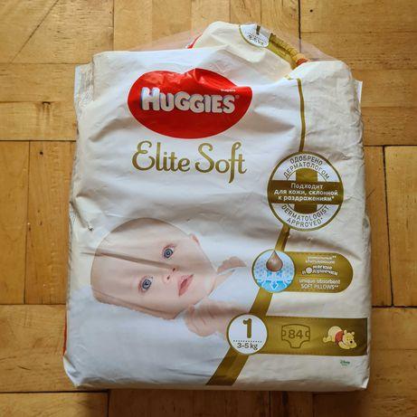 Подгузники Huggies Elite Soft 0 и 1