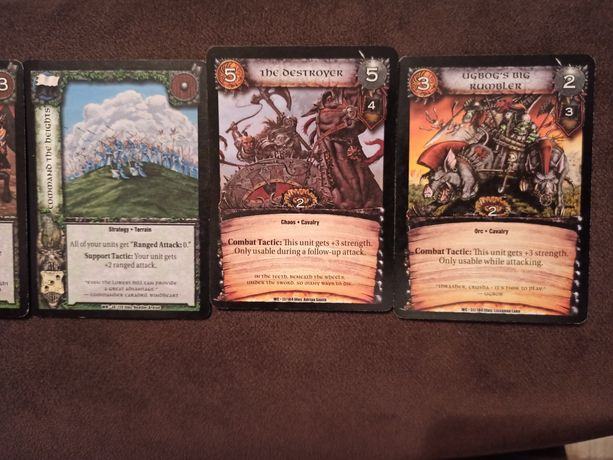 Karty Warhammer kolekcja