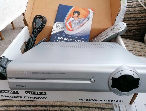Dekoder Tuner Philips DSR 3201/91 TV Cyfra+