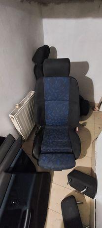 fotele wnętrze alcantara BMW E36 SEDAN komplet boczki sportsitze