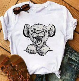 Koszulka bluzka t-shirt król lew Lion King Disney