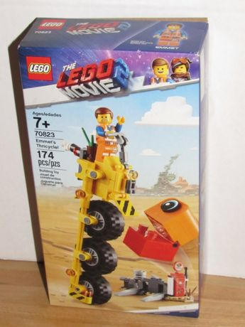 LEGO Movie 2 Triciclo Emmet 70823 NOVO