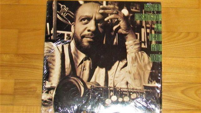 Grover Washington Jr - Then & Now; USA 180 gram LP;  NM