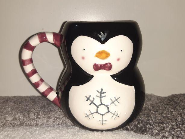 Kubek świąteczny pingwin