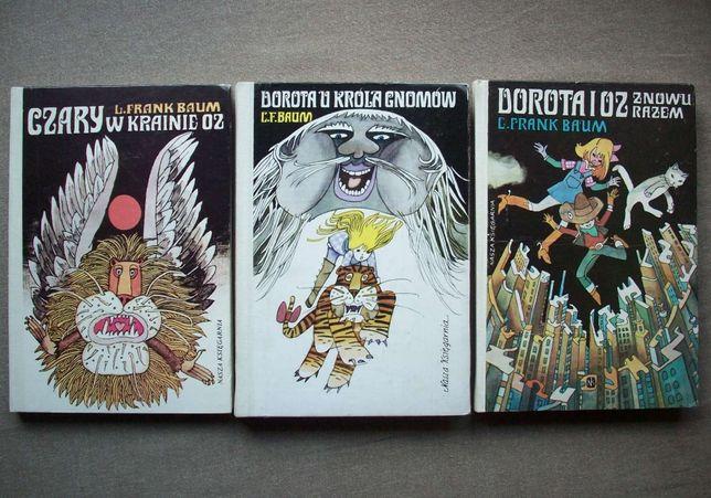 Czary w Krainie Oz, Dorota u króla Gnomów, Dorota i Oz znowy razem.