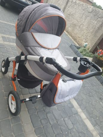 Wózek 3w1 Adamex Barletta Rainbow