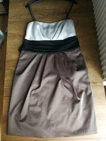 Ubrania/ sukienki/ swetry r 38