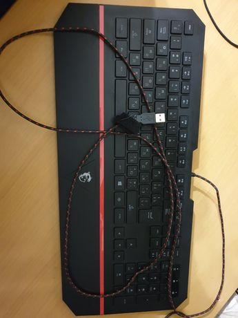 Игровая клавиатура msi ds4100, идеальное состояние