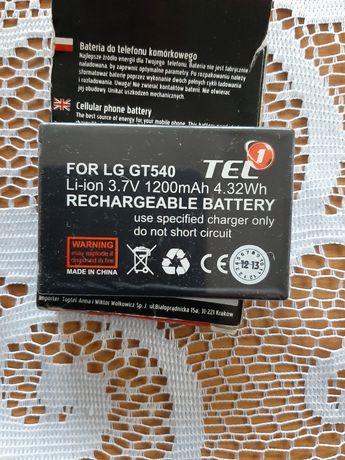 Witam mam do sprzedania nową baterie do LG GT 540