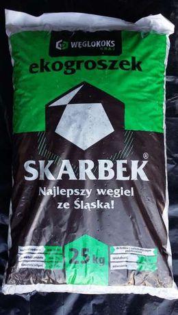 Ekogroszek SKARBEK 28 węgiel !!