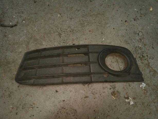 Zaslepka zderzaka, kratka, halogen Audi A4 B8 8K0, 807 681A 08-11 Lewa