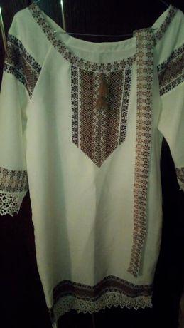 вишиване плаття