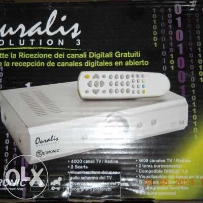 sintonizador de canais digitais por satélites
