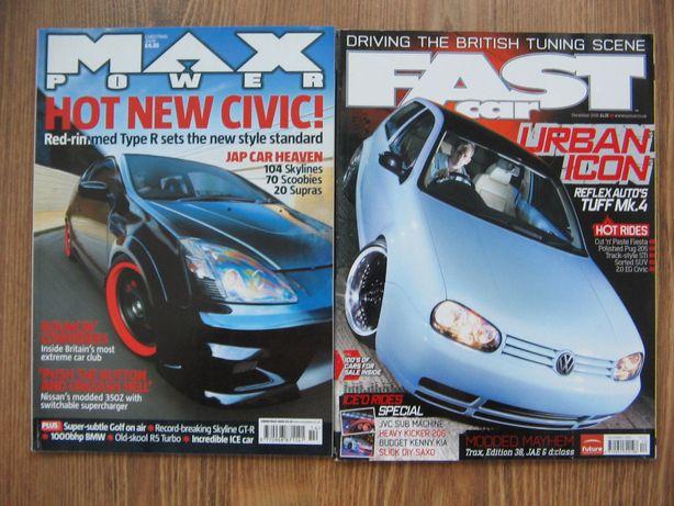 Max Power Fast Car magazyn czasopismo UK tuning Civic Golf Supra