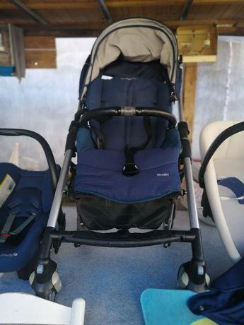 Carro trio  bebé confort