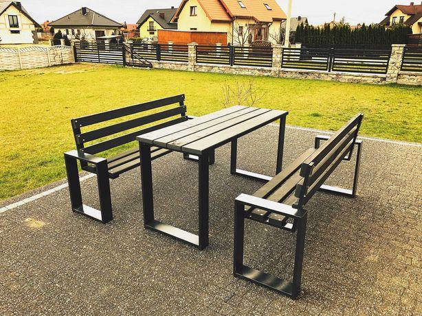 MEBLE OGRODOWE  komplet ławka stół nogi do ławki nogi do stołu cynk