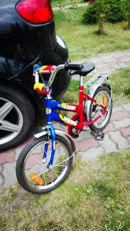 """Rower dziecięcy BMX rozmiar kół 16""""."""