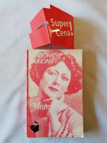 """książka """"moje życie"""" Isadora Duncan"""