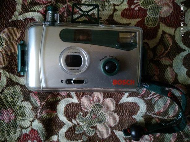 Фотоаппарат плёночный BOCSH с контейнером для подводной съёмки.