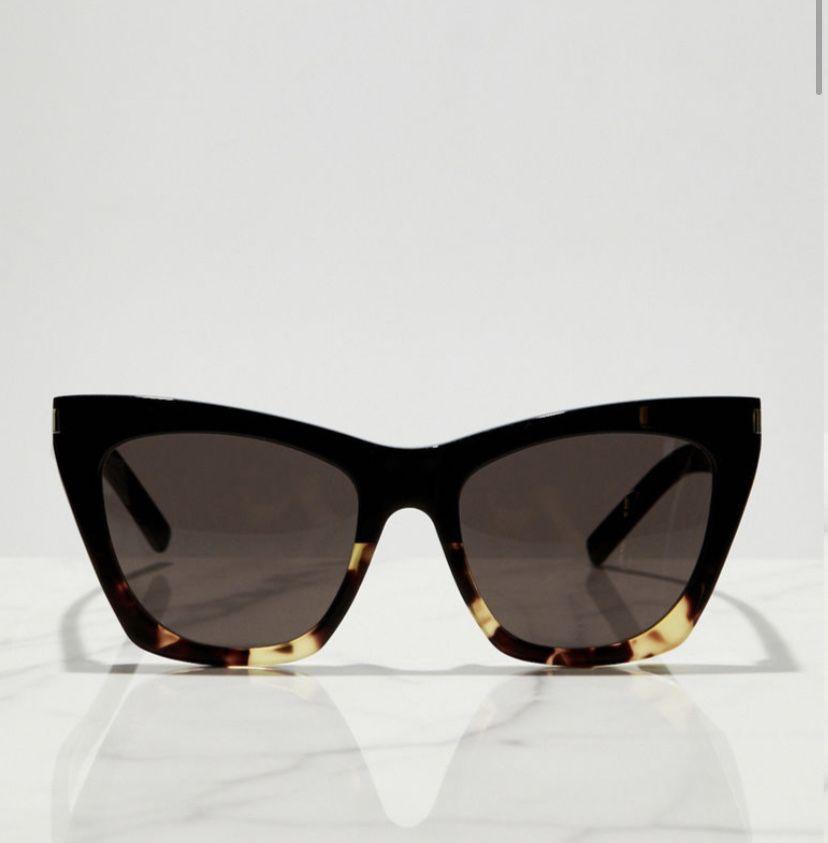 Nowe okulary przeciwsłoneczne Saint Laurent Kate - model gwiazd