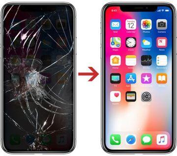 Iphone X XS max wyświetlacz SERWIS wymiana w ten sam dzień