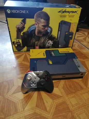 Xbox one X Cyberpunk Edition