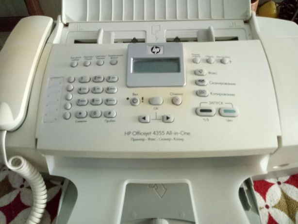 Принтер, сканер 3 в одном