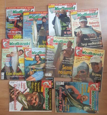 Czasopisma gazety Wędkarski Świat rocznik 2005