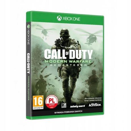 Call Of Duty Modern Warfare Remasteres XBOX ONE PL Polskie Napisy