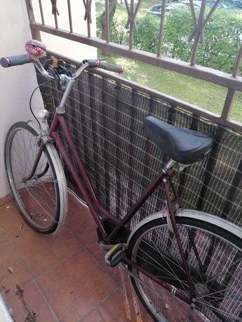 Stylowy rower miejski retro
